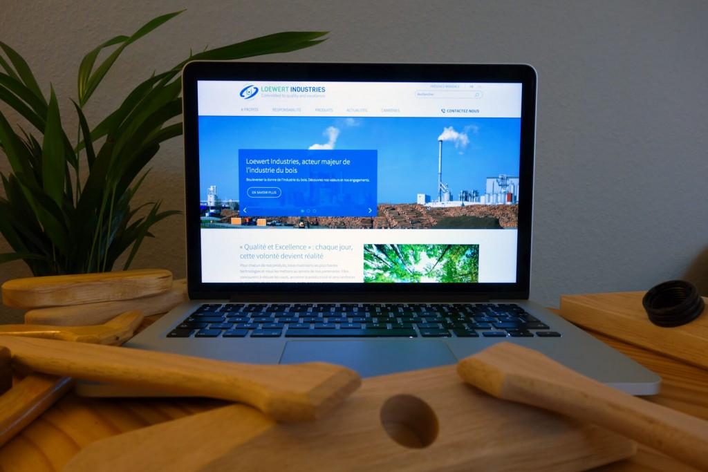 Loewert Industries - Site web