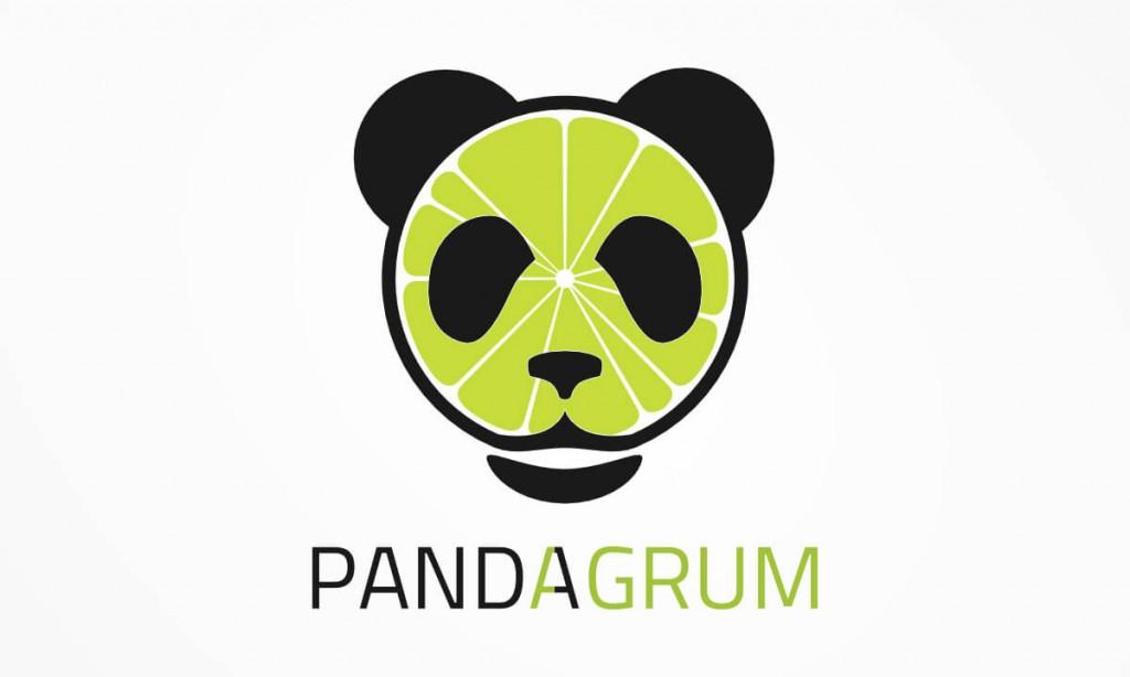 Pandagrum - Logo
