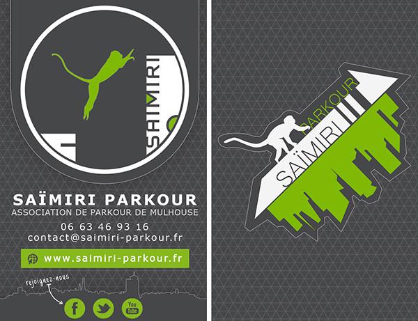 Saïmiri Parkour - Carte de visite