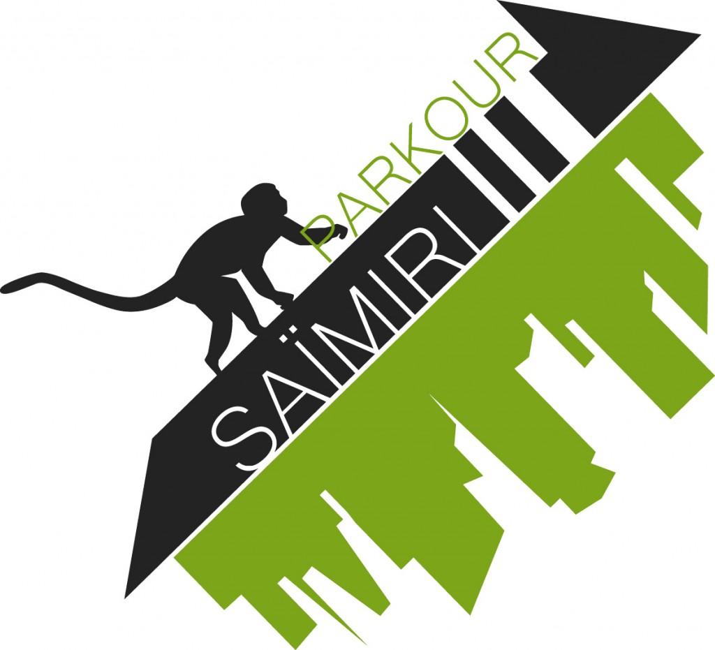 Saïmiri Parkour - logo street