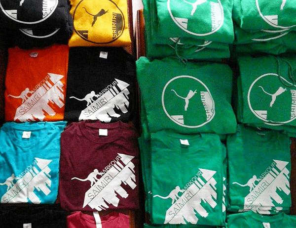 Saïmiri Parkour - Tee-shirt