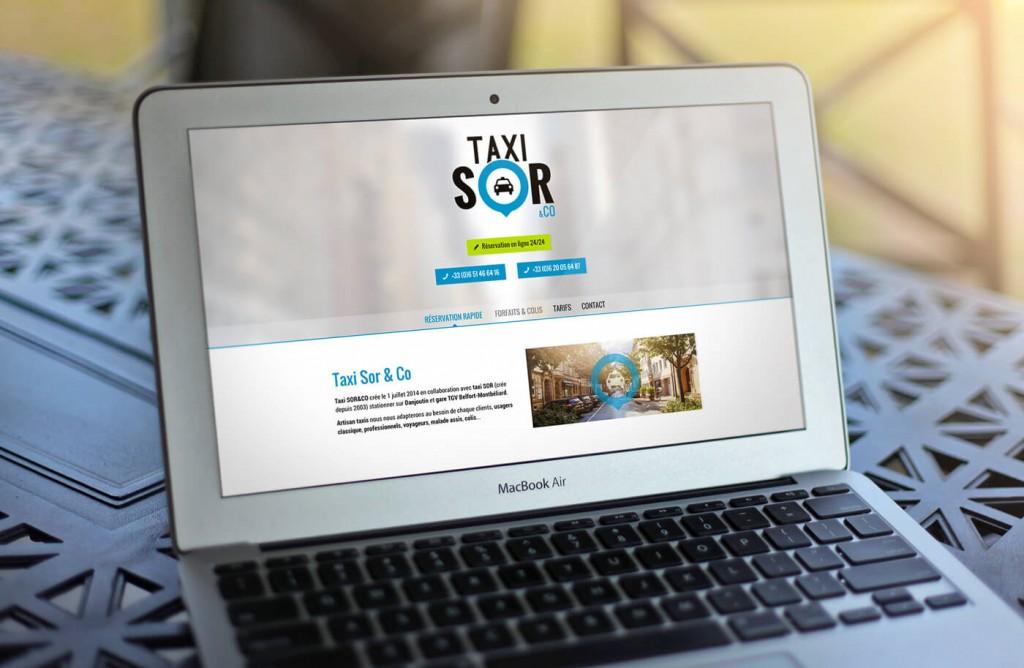 Taxi Sor & Co - Site web présentation