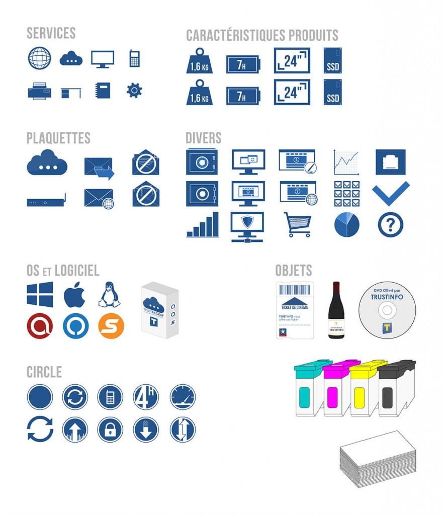 Trustinfo - Icônes