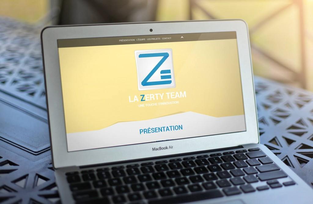 Zerty Team - Site web présentation