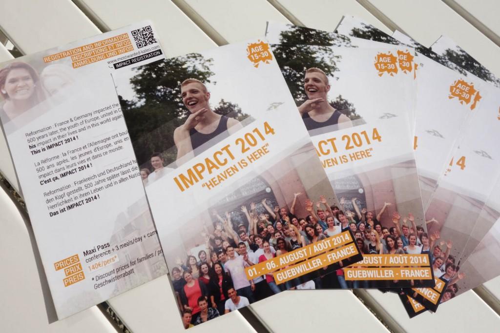 Camp Impact - Flyer