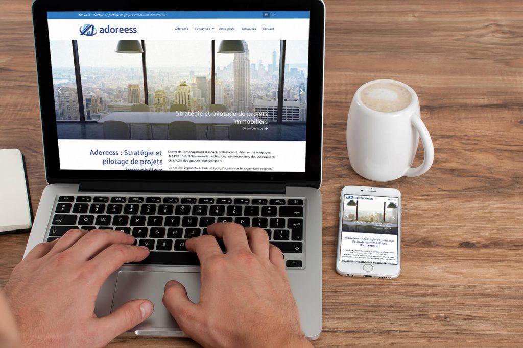 Adoreess - Site web présentation