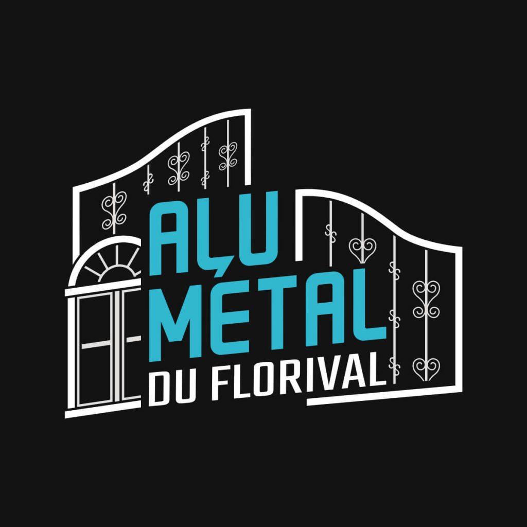 Alu Métal du Florival - Logo blanc