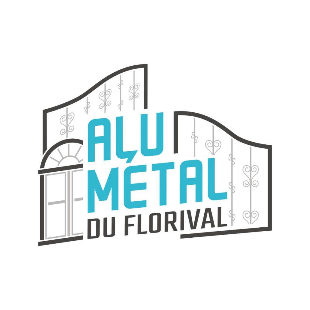 Alu Métal du Florival - Logo noir